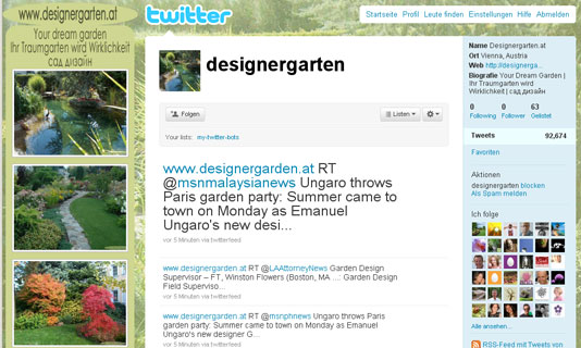 Image for 'designergarten.at' 2