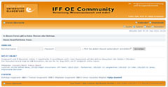 Image for 'IFF OE Community'