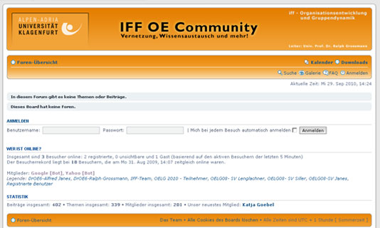 Image for 'IFF OE Community' 1