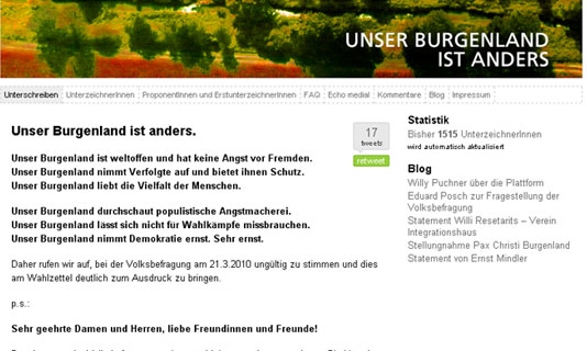 Image for 'www.unserburgenlandistanders.at' 1